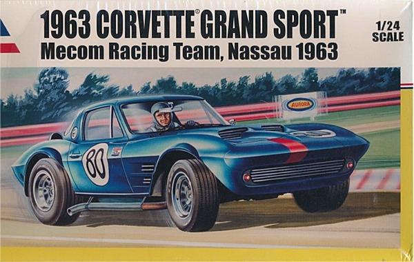 1963 Corvette Grand Sport Mecom Racing Team (1/24) (fs)