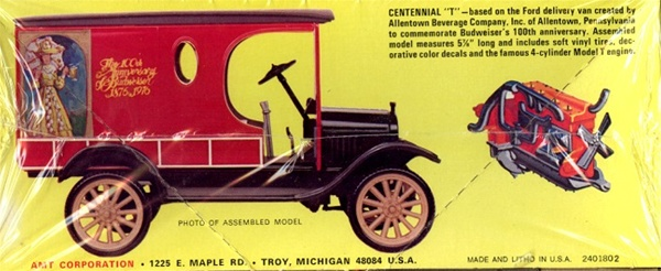 1923 Ford Model T Budweiser Delivery Van 1 25