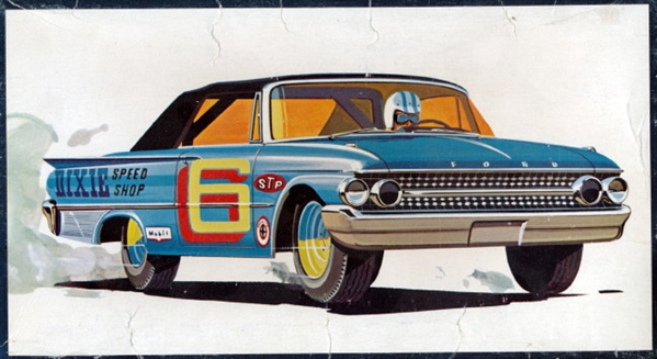 1961 Ford Galaxie Sunliner Convertible 3 N 1 Stock