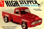 "1953 Ford F-100 Pickup ""High Stepper"" (2 'n 1) Stock or Custom (1/25) (fs)"