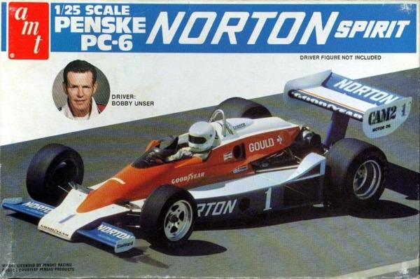 1979 Bobby Unser Penske Pc 6 Norton Spirit Indy Car 1