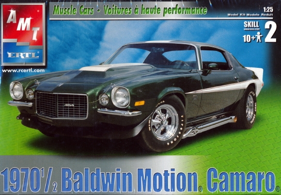 1970 1 2 Chevy Baldwin Motion Camaro 1 25 Fs