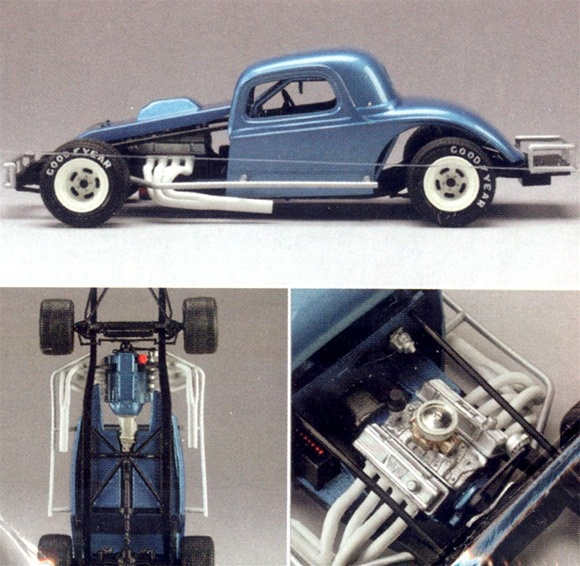 1934 Ford Early Modified Racer (1/25) (fs