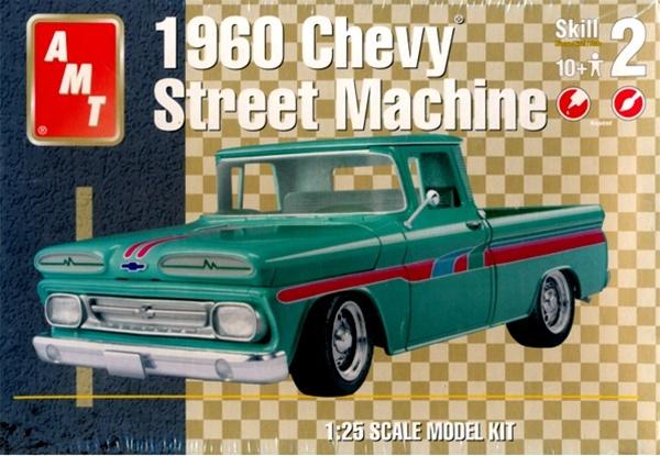 Chevy Semi Truck >> 1960 Chevy Street Machine Pickup (1/25) (fs)