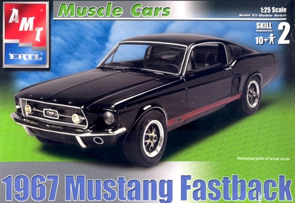 1967 Ford Mustang Fastback 1 25 Fs