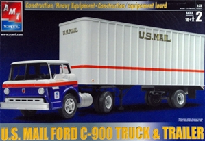 U S Mail Ford C 900 Tractor Trailer Set 1 25 Fs