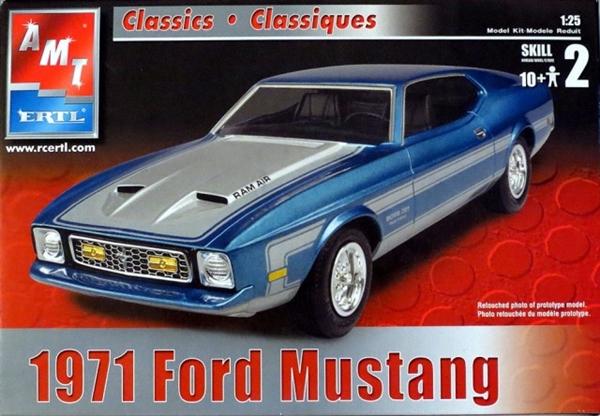 Dodge Challenger Convertible >> 1971 Ford Boss Mustang 351 (1/25) (fs)