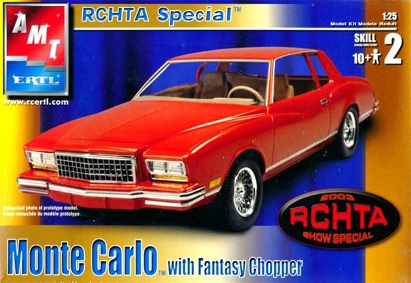 1980 Chevy Monte Carlo with Fantasy Chopper (1/25) (fs)