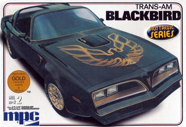 1977 Pontiac Firebird Trans Am Blackbird 1 25 Fs