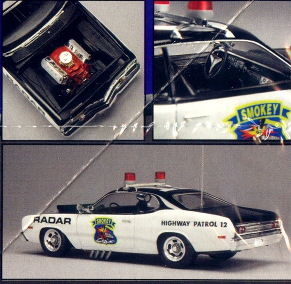 1976 Dodge Smokey The Convoy Chaser Police Interceptor