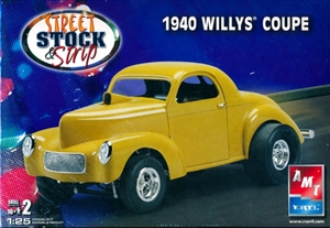1940 Willys Coupe ( 4 'n 1 )  Street, Coupe or Pickup (1/25) (fs)