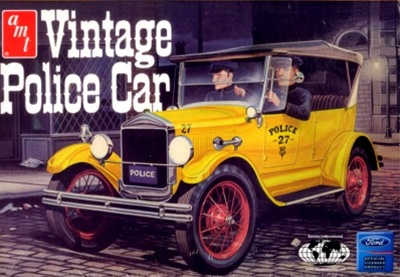 1927 Ford T Phaeton Vintage Police Car 1 25 Fs