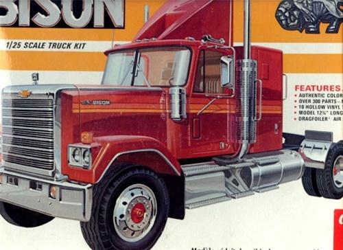 Amt on Big Rig Truck Kits