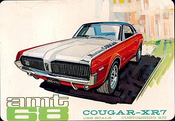 1968 Mercury Cougar Xr7 3 N 1 Stock Custom Or Racing