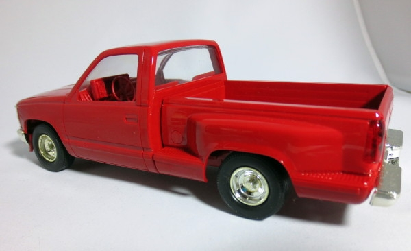 1991 Chevy Silverado Sportside Red Promo 125 Fs