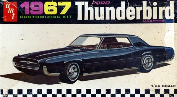 1967 Ford Thunderbird Customizing Kit 1 25