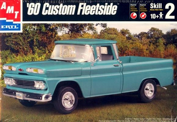 1960 Chevy Fleetside Pickup - RUST AMT-6310-2