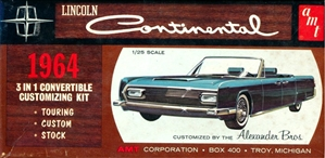 1964 lincoln continental convertible 3 39 n 1 stock. Black Bedroom Furniture Sets. Home Design Ideas