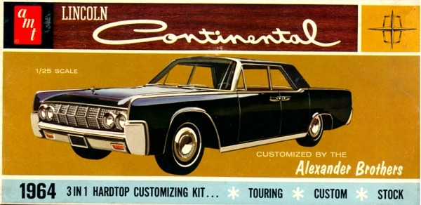 1964 lincoln continental hardtop 3 39 n 1 stock custom or touring 1 25. Black Bedroom Furniture Sets. Home Design Ideas