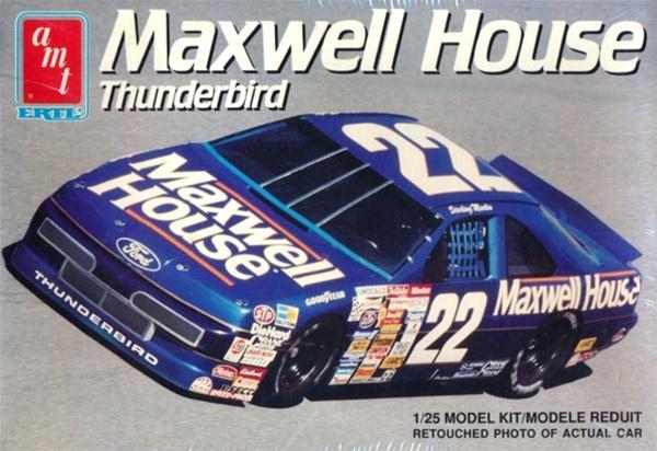 1991 Ford Thunderbird Maxwell House 22 Sterling Marlin
