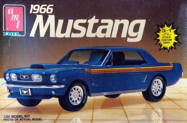 1966 Ford Mustang Hardtop 3 N 1 Stock Custom Drag 1
