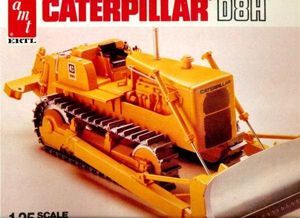 Dodge Truck Parts >> Bulldozer D8H (1/25) (fs)