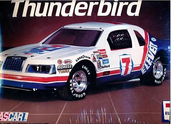 1985 Ford Thunderbird Kyle Petty 7 11 7 1 16 Fs