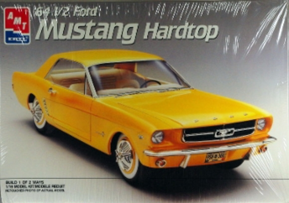 66 Mustang Parts >> 1964 1/2 Ford Mustang Hardtop (1/16) (fs)