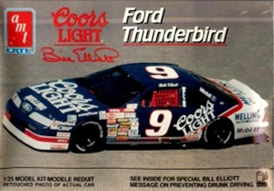 1991 Ford Thunderbird 'Coors Light' #9 Bill Elliott (1/25 ...