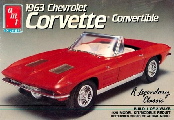 1963 Chevrolet Corvette Convertible 1 25