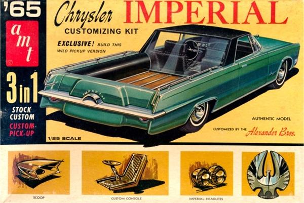 1965 Chrysler Imperial Convertible 3 N 1 Stock Custom