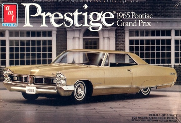 1965 pontiac grand prix 3 39 n 1 prestige series 1 25 fs. Black Bedroom Furniture Sets. Home Design Ideas