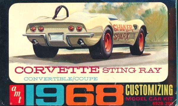 Vehicle Emergency Kit >> 1968 Corvette Sting Ray Convertible Customizing Kit (3 'n 1) (1/25) (See More Info)