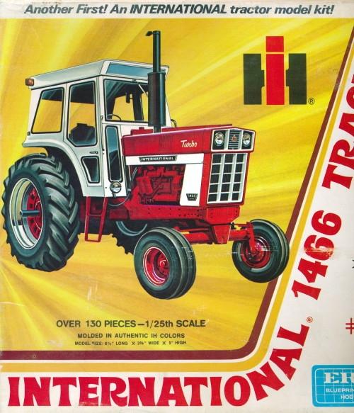 International 1466 Farm Tractor (1/25