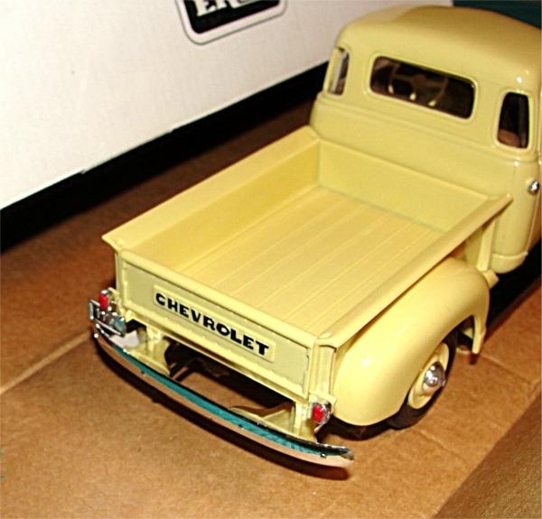 1950 Chevy Pickup Cream Medium Promo (1/25) (Mint in Box)
