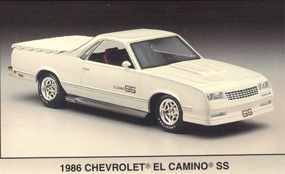 1986 Hot Trucks 86 El Camino SS 90 Chevy Sportside 55 Chevy