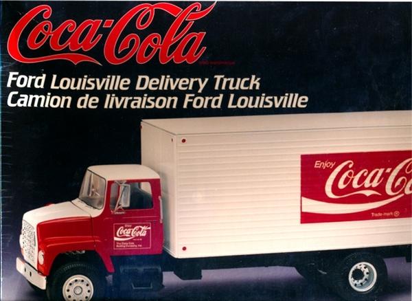 Ford Louisville Delivery Truck Coca-Cola (1/25) (fs)