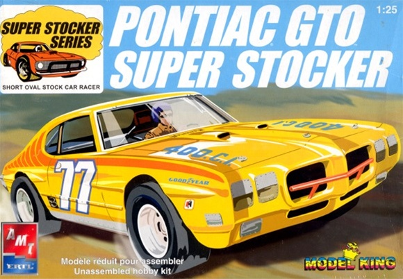 1970 Pontiac GTO Super Stocker from MPC tooling with ...