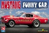 "1965 ""Daddy Warbucks"" Phil Bonner Altered Wheelbase Ford Mustang Dragster (1/25) (fs)"