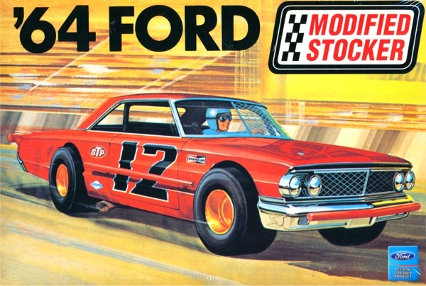 1964 Ford Galaxie Modified Stocker 1 25 Fs