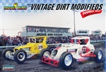 Vintage Dirt Track Modified Racers from Lindberg tooling (1/25) (fs)