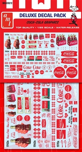 Coca Cola Decal Pack 1 25 Fs