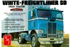 White Freightliner Single Drive Cabover (1/25) (fs)
