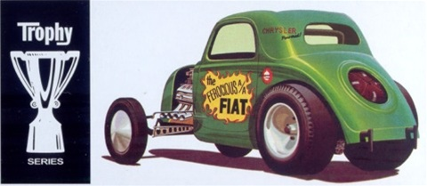 Fiat Aa Altered Double Dragster Collector Tin Version 1