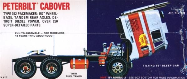 Peterbilt 352 Pacemaker Cabover 1 25 Fs