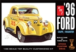 "1936 Ford ""Three Window"" Coupe/Roaster ""Trophy Series"" (3 'n 1)  Stock, Custom, Drag with optional Chopped Top (1/25) (fs)"