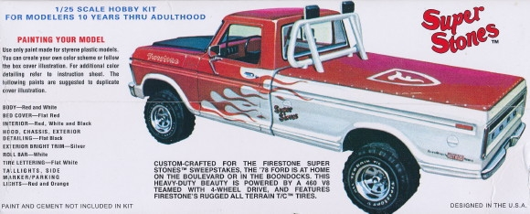Amt 1978 Ford Pickup Model Kit
