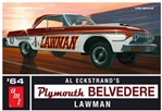 """Lawman"" 1964 Plymouth Belvedere Super Stock (1/25) (fs)"