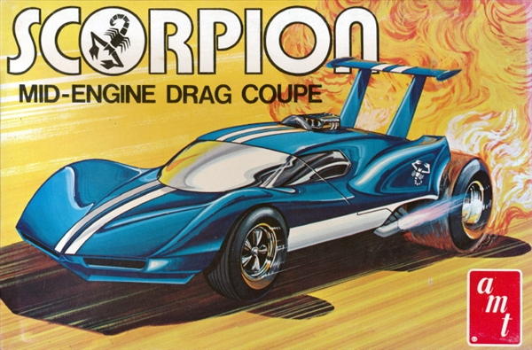 scorpion mid engine drag coupe  fs