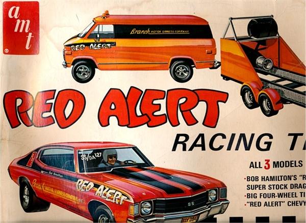 Red Alert Racing Team 'Red Alert' 1972 Chevelle, Chevy Van ...